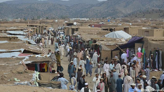 Afghanistan Khost Flüchtlingslager Flüchtlinge aus Wasiristan UNHCR