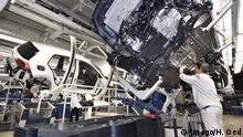 Wolfsburg Volkswagen-Werk Mitarbeiter