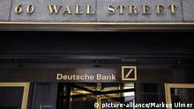 New York Wall Street Deutsche Bank Eingang