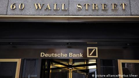 New York Wall Street Deutsche Bank Eingang (picture-alliance/Markus Ulmer)