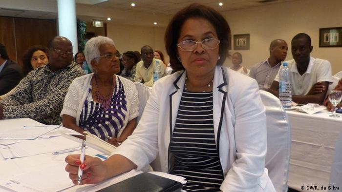 Mosambik Eufriginia dos Reis Koordinatorin