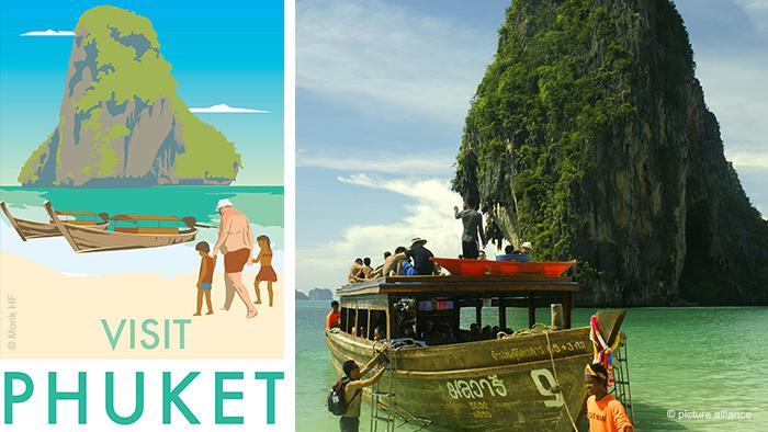 Monk's Phuket travel poster and photo of Phuket