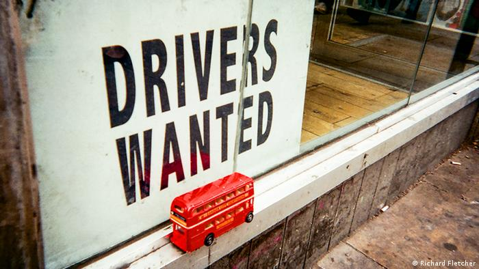 Cafe Art calendar project, Drivers wanted. Photo: Richard Fletcher.