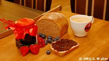 Brotsommelier Ralf Gießelmann Brot Marmelade Cafe (Foto: DW/jdw)