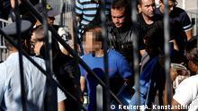 Griechenland Athen Türkischer Soldat nach Flucht