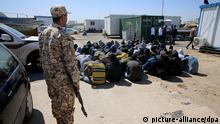 Libyen EU Flüchtlingskrise