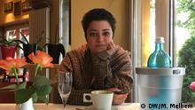 Auf dem Bild ist Sally Abazin. Sie lebt in Berlin seit November 2015. Ort: Westend, Berlin Datum: 16.08.2016 Fotograf: Maissun Melhem Copyright: DW/M. Melhem