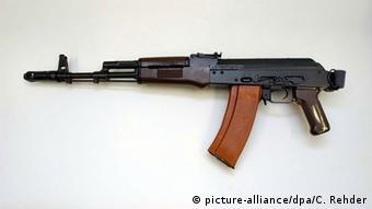 Waffe Kalaschnikow