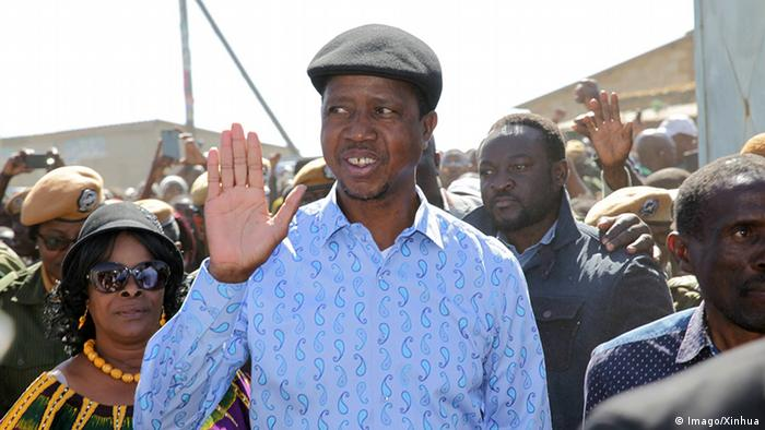 Zambian President Edgar Lungu (Imago / Xinhua)