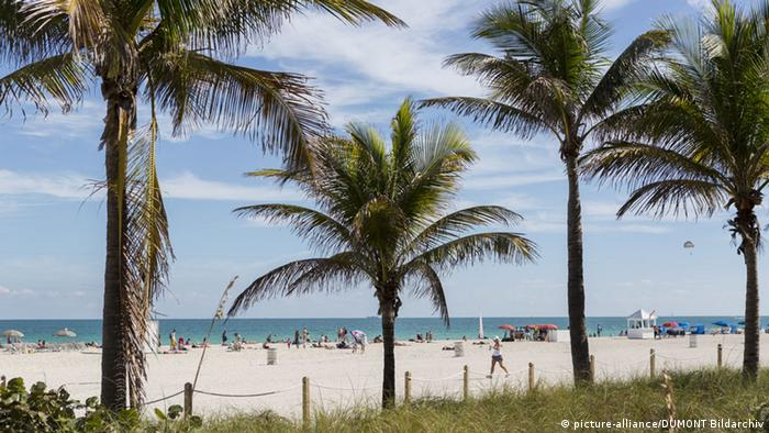 Strand South Beach Miami (picture-alliance/DUMONT Bildarchiv)