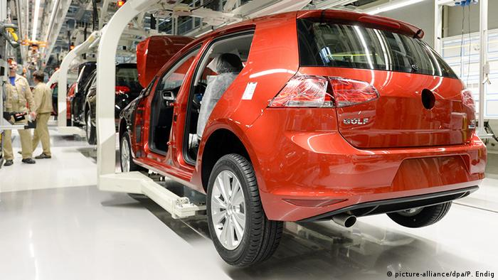 Deutschland Volkswagen Produktion in Zwickau