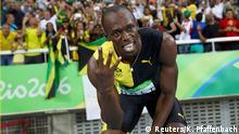 Brasilien Olympische Spiele Rio 2016 – 4 x 100 m Staffel, Männer - Usain Bolt