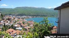 Mazedonien Stadt Ohrid am Ohridsee