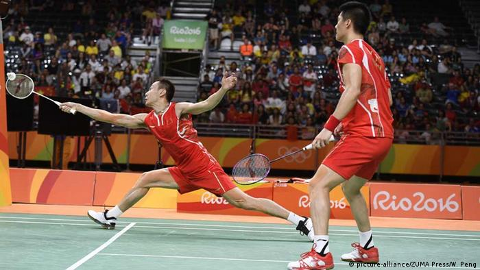 Olympia Rio 16 20 08 Momente Badminton-Männer-Duo Chinas holt Gold gegen Malaysia