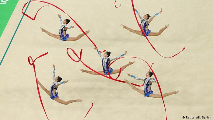 Rio Momente 20 08 Olympische Spiele Rythmische Sportgymnastik Israel