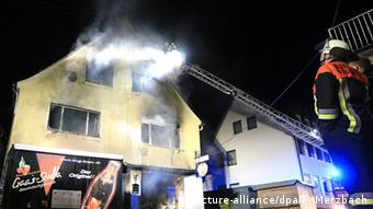 Πυρκαγιά το 2016 σε καταυλισμό ασυλούχων στη Βαυαρία