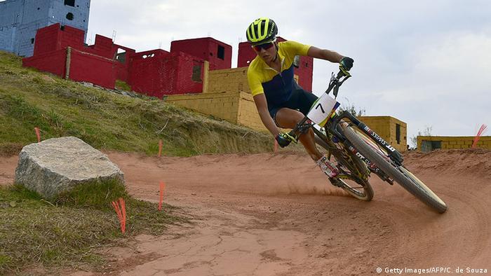 Brasilien Rio de Mountain Bike Jenny Rissveds
