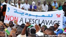 Afrika Mauretanien Proteste gegen Sklaverei