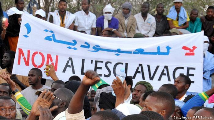 Мавритания: протести срещу робството