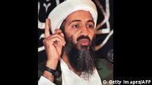 Osama Bin Laden Porträt