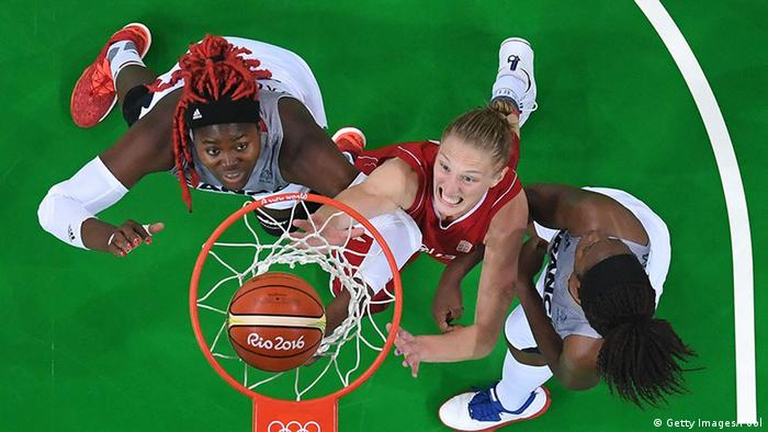 Olympia Rio 16 20 08 Momente Basketball Frauen Serbien vs Frankreich