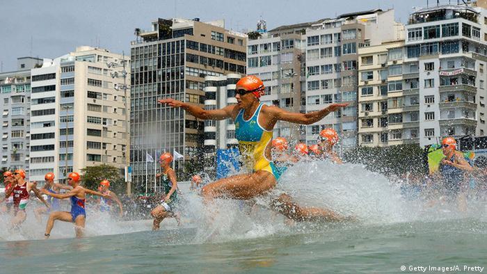 Olympia Rio 16 20 08 Momente Triathlon Frauen