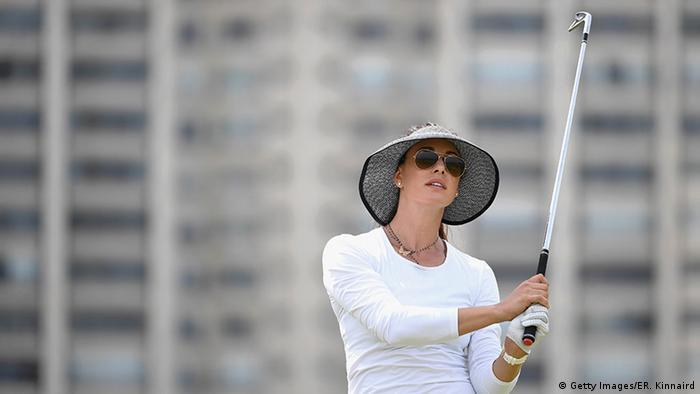 Olympia Rio 16 20 08 Momente Golf Maria Verchenova Russland