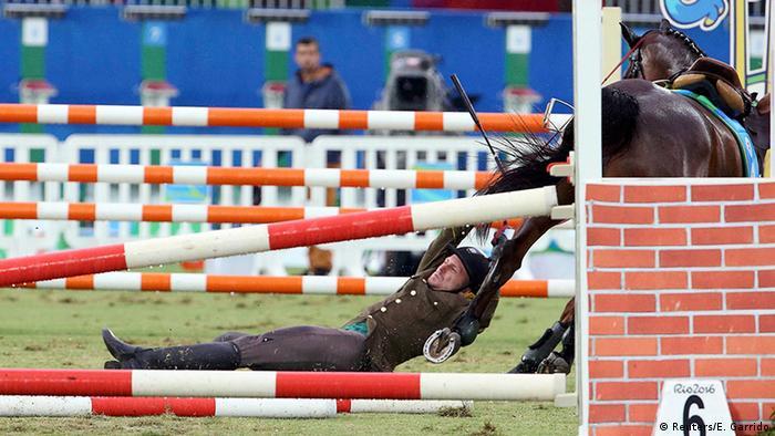Olympia Rio 16 20 08 Momente Reiten Fünfkampf Justinas Kinderis