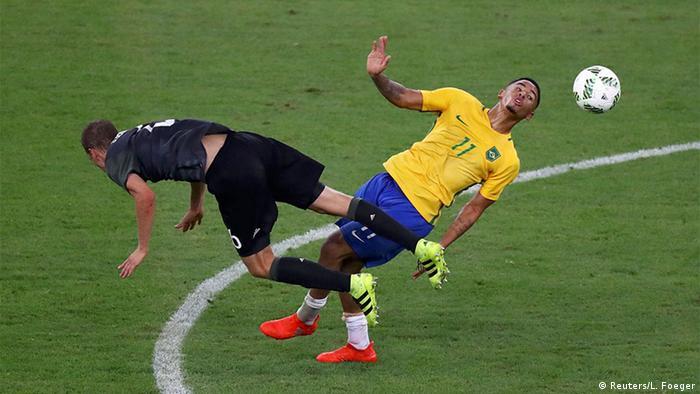 Olympia Rio 16 20 08 Fußball Deutschland Brasilien Finale (Reuters/L. Foeger)