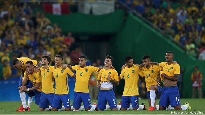 Olympia Rio 16 20 08 Fußball Deutschland Brasilien Finale Elfmeterschießen