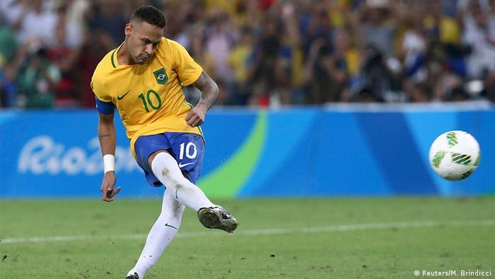 Olympia Rio 16 20 08 Fußball Deutschland Brasilien Finale (Reuters/M. Brindicci)