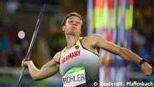 Olympia Rio 16 20 08 Speerwurf Thomas Röhler