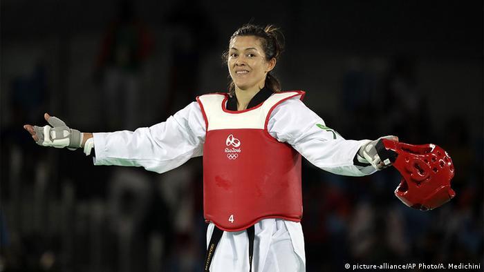 Olympia Rio 16 20 08 Momente Taekwondo Maria Del Rosario Espinoza Espinoza