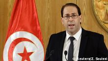 Tunesien Premierminister Youssef Chahed