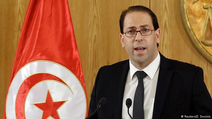 Tunesien Premierminister Youssef Chahed (Reuters/Z. Souissi)