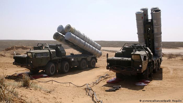 Mobiles Langstreckenraketensystem S-300 (picture-alliance/dpa/D. Rogulin)