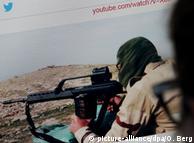 Кадр з пропагандистського відео ІД