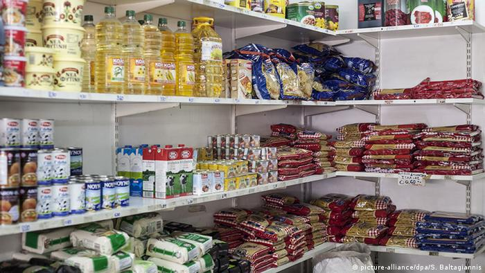 Greek grocery store (picture-alliance/dpa/S. Baltagiannis)