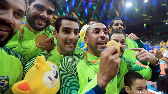 Brasilien Olympische Spiele Rio 2016 21 08 - Volleyball Brasilien Gold
