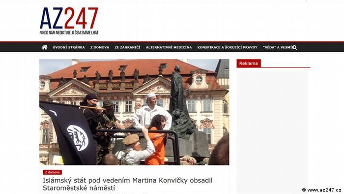 Screenshot az247.cz