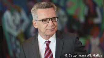Deutschland Innenminister Thomas de Maizière (Getty Images/S. Gallup)