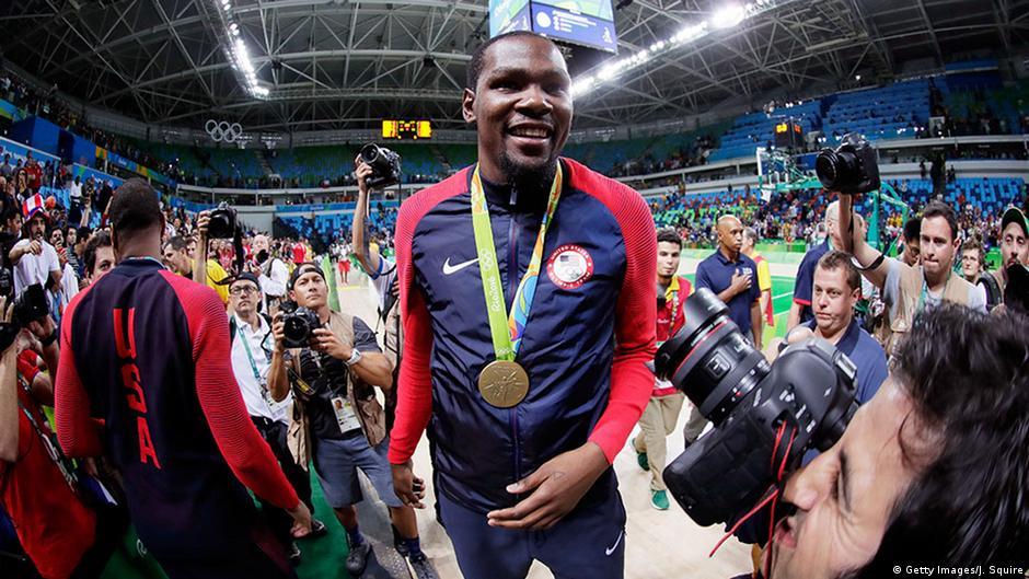 81a7469f2d3 Olympics Day 16 roundup  Durant leads US assault