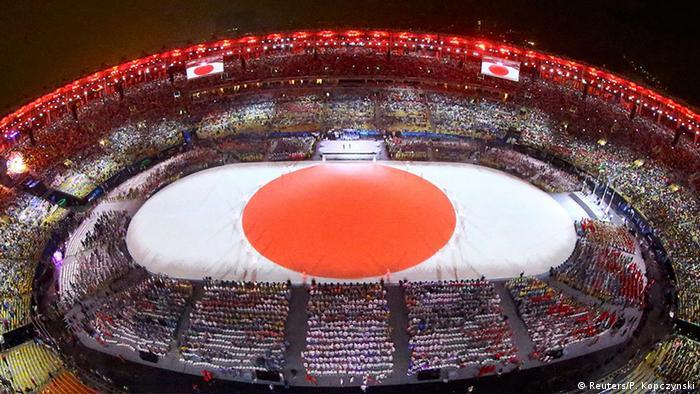 Brasilien Olympische Spiele Rio 2016 21 08 Abschlussfeier Tokio
