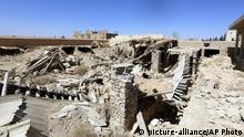 Syrien Qaryatain Kloster Mar Elian Zerstörungen