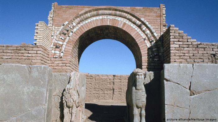 Irak antike Stadt Nimrud Nordwestpalast Calah (picture-alliance/Heritage Images)