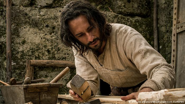 Ben Hur Film 2016 Rodrigo Santoro as Jesus (picture-alliance/dpa/Paramount Pictures)