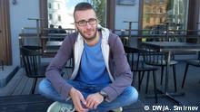 Portrait eines Aktivisten Anton Motolko
