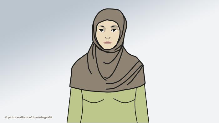 Жінка у хіджабі аміра