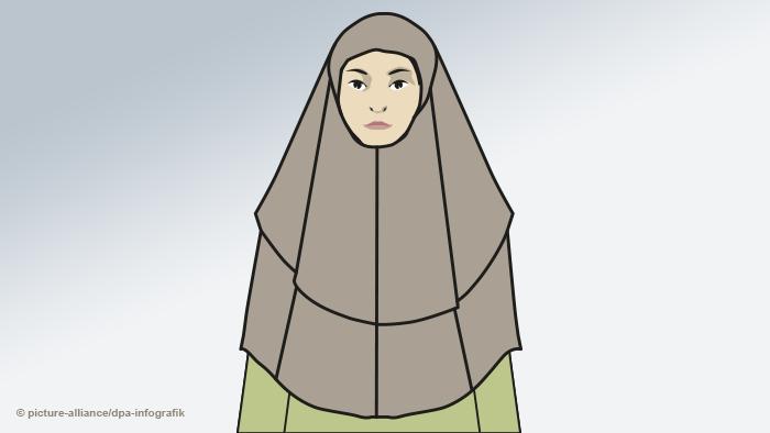 Жінка у хімарі