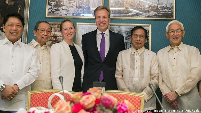 Norwegen Friedensverhandlungen Philippinen